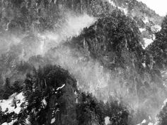 Untitled   Owen Schaefer. Blowing snow in the mountains of Kurobe, Japan.