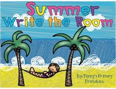 These summer themed vocabulary words can be used with the write the room activity, on a word wall or in literacy centers! A great literacy activity for the end of the year!Includes:15 vocabulary cards in colour15 vocabulary cards in black and whiteWrite the room recording sheet with picturesWrite the room recording sheet with numbersFill in the