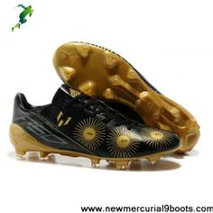 Adidas limited edition Lionel Messi Ballon DOr F50 boots in black gold