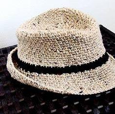 Fedora Hat Crochet Pattern
