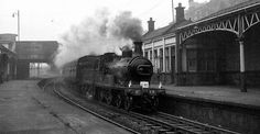 Old photograph of the Gordon Highlander steam train in the railway station in Perth, Perthshire, Scotland Perth Scotland, British Rail, Train Engines, Old Photographs, Steam Engine, Historical Photos, Planes, Trains, Boats