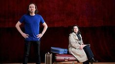 Simon Stone and Pamela Rabe conjure what Rabe calls 'the mad, illogical world of Chekhov'.