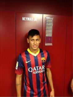 NEYMAR welcome to FCB