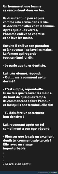 Le dentiste - Humour Actualités Citations et Images