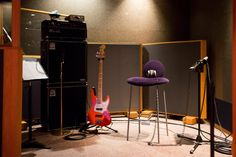 Sound Booth of Studio A of Paisley Park, where Prince recorded most of his biggest hits.
