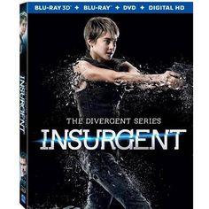 The Divergent Series: Insurgent (Blu-ray 3D + Blu-ray + DVD + Digital HD) (Widescreen)