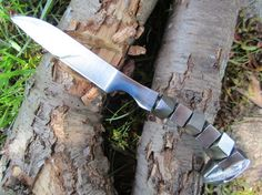 SALE Hand Forged Railroad Spike KnifeCubes by MainlineSteelWorks, $50.00