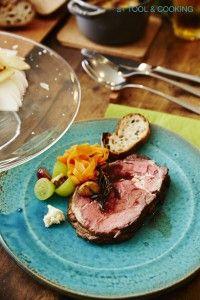 ローストビーフ|薪ストーブと料理
