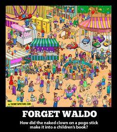 Forget Waldo…