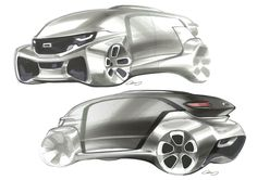 Sketches for LADC 2014 -QOROS on Behance