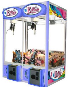 Crane Machines / Claw Machines / Crane Redemption Games For Sale E-K | Factory Direct Prices ! | Global Coin Operated Crane Claw Toy Plush P...