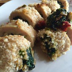 Spinach, Sundried Tomato, Feta Stuffed Chicken   Eat Primp Love