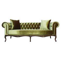 Royal Chesterfield Pistachio Green Sofa