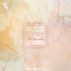 Watercolor background simulating marble  Free Vector