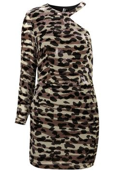 fbdd40631288 TOPSHOP Limited Animal Devore Party Evening Dress  TOWIE  party  christmas  dress  Topshop