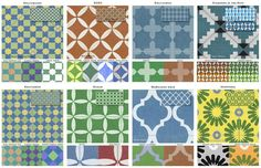 Moroccan-inspired sampler from Casart Coverings. The designer is Amy Finkle. / Photo provided by Casart Coverings