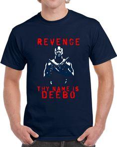 James Harrison Deebo New England Football Team Revenge Navy T Shirt
