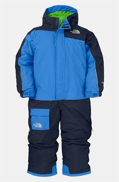 The North Face Insulated Snow Suit (Toddler) available at #Nordstrom