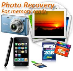 Photo Recovery for memory card