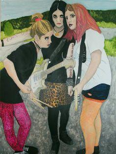 "Saatchi Art Artist Christy Powers; Painting, ""Cuntrol"" #art"
