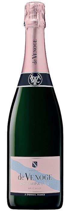 Découvrez ce produit : Champagne de Venoge Cordon Bleu Brut rosé | Vin mousseux SAQ - 13449157