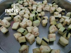 Çıtır Patlıcan Küpleri - Nefis Yemek Tarifleri Cheese, Vegetables, Karma, Food, Essen, Vegetable Recipes, Meals, Yemek, Veggies