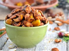 Holiday Recipes & Tips: Spiced Chestnuts