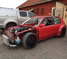 Toyota Corolla with a 2JZ-GTE Inline-Six