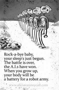 #4 in my series of Apocalyptic Nursery Rhymes. Rock-A-Bye Baby. Read about the project here: http://aliciavannoycall.blogspot.com/2014/02/apocalyptic-nursery-rhymes.html