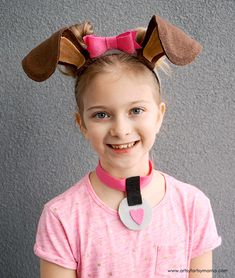 Diy Dog Costume Accessories Dog Costumes For Kids Diy Dog Super Easy No Sew Puppy Dog Costume Puppydog Costume Halloween 15 Dog Halloween Costumes For Kids Or Adults 2017 10 Totally Awesome Diy Glove Puppets… Puppy Costume For Kids, Girl Dog Costumes, Puppy Halloween Costumes, Animal Costumes, Halloween Kids, Toddler Dog Costume, Diy Costumes, Costume Ideas, Diy Tumblr