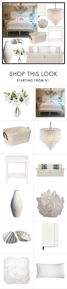 """""""White Home"""" by tlb0318 on Polyvore featuring interior, interiors, interior design, home, home decor, interior decorating, Eichholtz, Kate Spade, Jonathan Adler and Pier 1 Imports"""