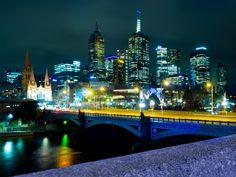 Melbourne @ Night