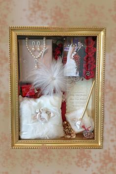 Super Ideas For Diy Wedding Souvenirs Ideas Shadow Box Wedding Memory Box, Wedding Boxes, Wedding Frames, Post Wedding, Diy Wedding, Shadow Box Wedding, Wedding Ideas, Wedding Reception, Wedding Dress Preservation