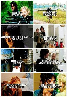 Beth Greene and Daryl Dixon | Bethyl pictures | The Walking Dead