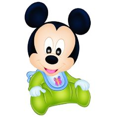 Baby Mickey Mouse Disney Cartoon Clip Art Images On A Transparent Background