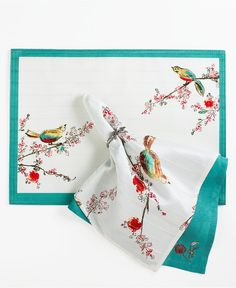 Lenox Chirp Napkin - Table Linens - Dining & Entertaining - Macy's