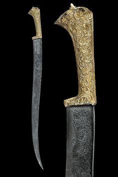 A yatagan   dating: 19th Century   provenance: Ottoman Empire