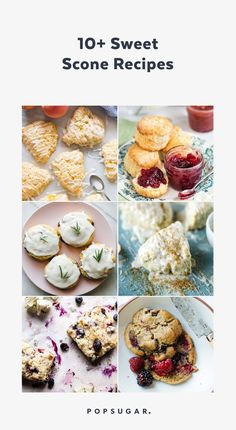 11 Sweet Scone Recipes You'll Want to Bake Immediately Scone Recipes, Breakfast Recipes, Sweet Scones Recipe, Pie Company, Healthy Living, Muffin, Brunch, Sweets, Baking Ideas
