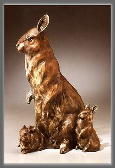 """Peter, Paul & Mama"" Bronze. By Dawn Weimer"