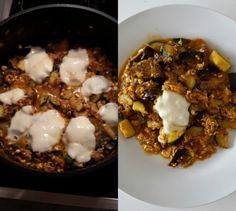 Thunfischpfanne mit Mozzarella