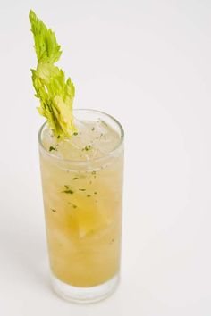 Pimm's Cups are a classic drink for warm, summer days, especially when rimmed with a touch of salt or lemon pepper.