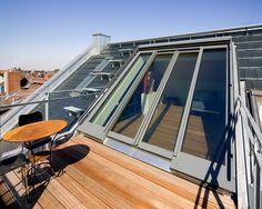 Panorama ist ein Dach-Schiebefenster für große Öffnungen bis zu 12 Meter breit und 3,5 Meter hoch