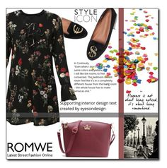 """""""ROMWE 4/XI"""" by saaraa-21 ❤ liked on Polyvore featuring romwe"""