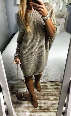María Cielo: El vestido sweater 2017