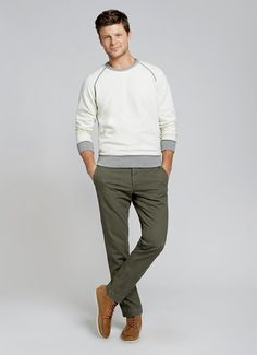Survival Chinos - Olive | Bonobos Olive Extra-Sturdy Herringbone Twill Chinos - Bonobos Men's Clothes - Pants, Shirts and Suits