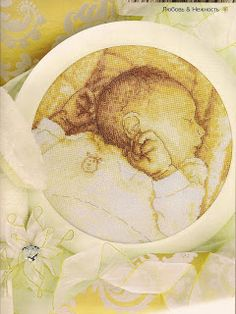 Baby portrait cross stitch1