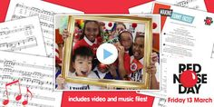 Sing along with the Red Nose Day 2015 Song Video and Lyrics Pack- twinkl