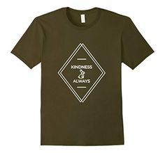 Men's Kindness Always Organic T-Shirt XL Olive - Brought to you by Avarsha.com