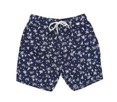 Swim Trunks Boardshorts for Men Fancy Illusion Swan Bird Funny Boy Men S Shorts