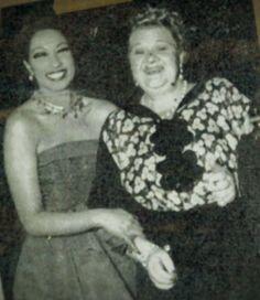 Josephine Baker and Sophie Tucker, 1951 Josephine Baker, Aunt